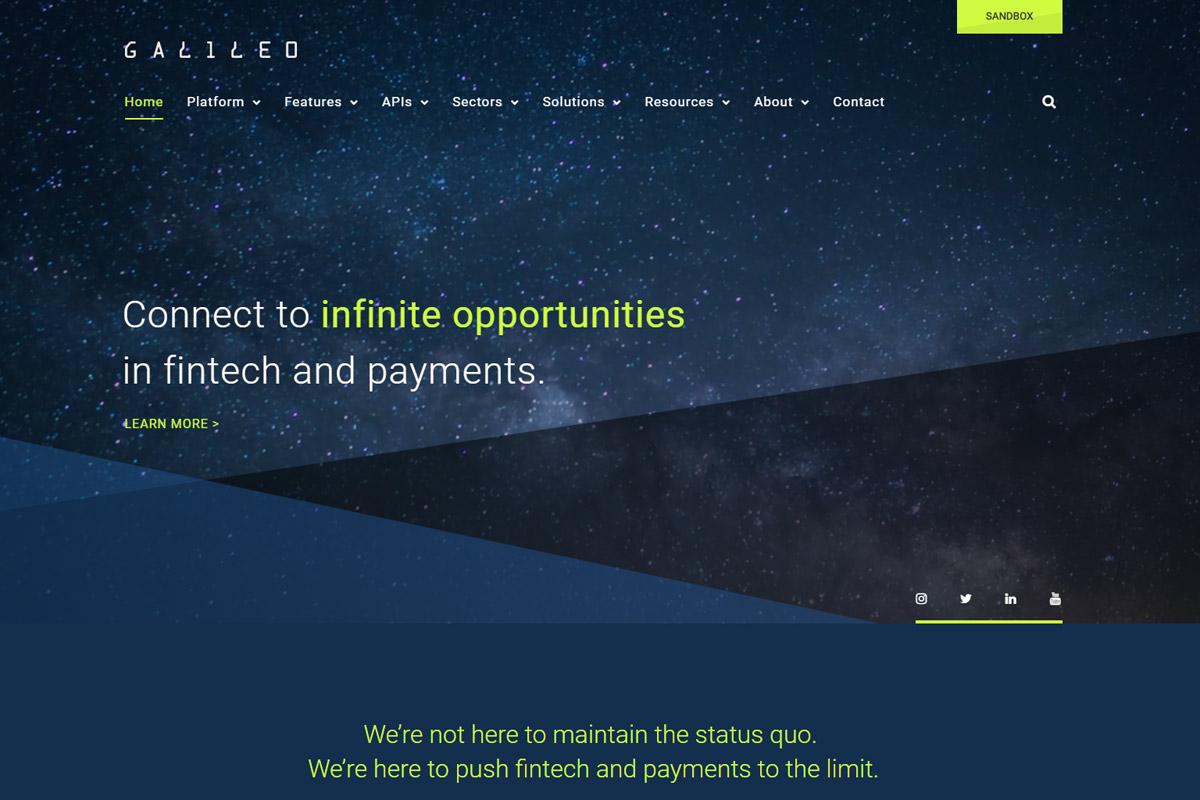 Galileo Website Image