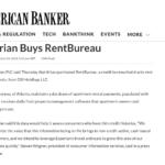 RentBureau in American Banker