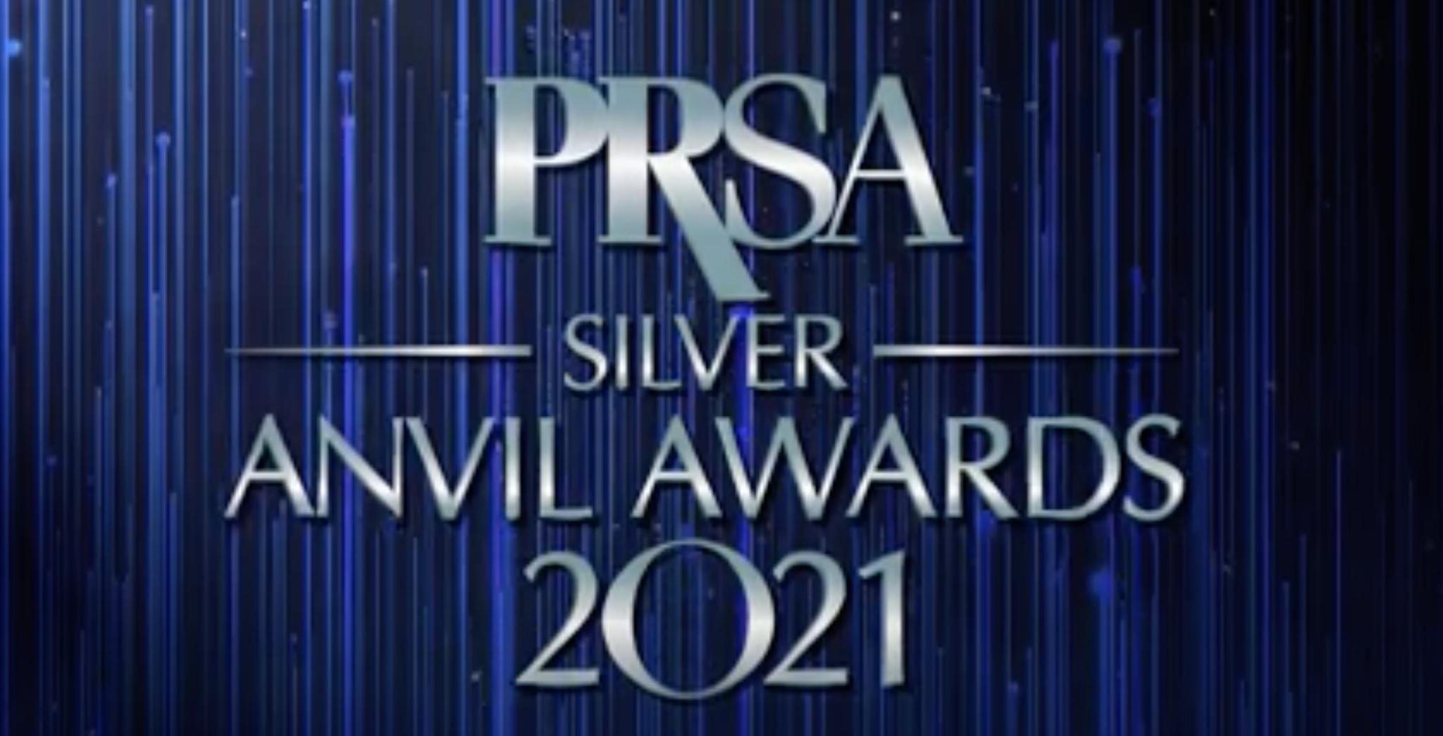 PRSA 2021 Silver Anvils