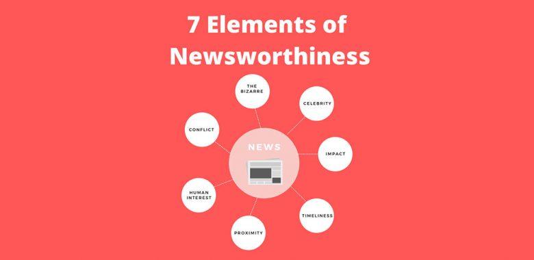 7 elements of newsworthiness